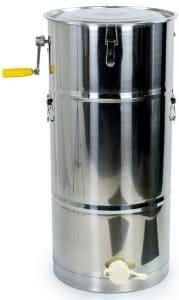 VIVO 2-Frame Stainless Steel Manual Honey Extractor