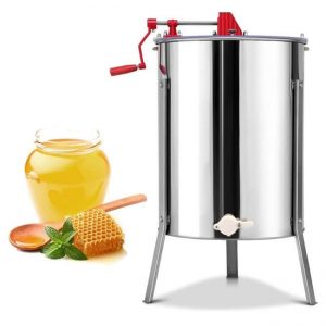 GoPlus 4-8 Frame Manual Honey Extractor Unit