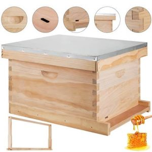 Happybuy Beekeeping Starter Kit Langstroth Beehive
