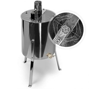 Honey Keeper Pro 4-Frame Stainless Steel Electric Honey Extractor