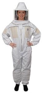 Humble Bee 432 Ventilated Beekeeping Suit with Square Veil